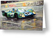 Porsche Psychedelic 917lh  1970  Le Mans 24  Greeting Card