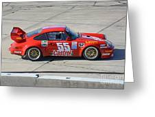 Porsche Rsr At Sebring Greeting Card