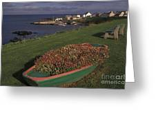 Port Ballintrea Greeting Card