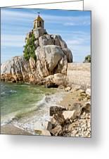 Port Blanc Pevenan Brittany France Greeting Card