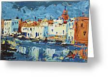 Port De Bizerte Greeting Card