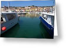Port De Cassis Greeting Card