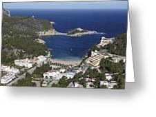 Port De St. Miquel, Ibiza Greeting Card