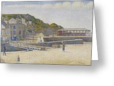 Port En Bessin Greeting Card