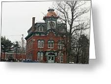 Port Henry Town Hall Greeting Card