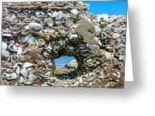 Port Hole Window Greeting Card