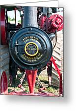 Port Huron Tractor Greeting Card