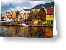 Port Life Greeting Card