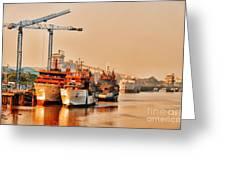 Port Greeting Card