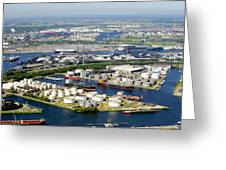 Port Of Amsterdam, Amsterdam Greeting Card