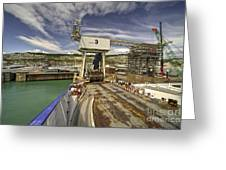Port Of Dover  Greeting Card