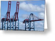 port of Gothenburg Greeting Card