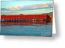 Port Of Naples Greeting Card