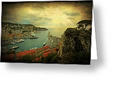 Port Of Nice Greeting Card