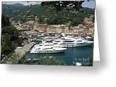 Port Of Portofino Greeting Card