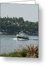 Port Orchard Foot Ferry Greeting Card