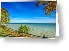 Port Sanilac Scenic Turnout Greeting Card