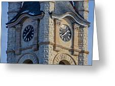 Port Washinton Court House Steeple 1  Greeting Card