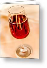 Port Wine Greeting Card