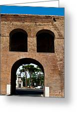 Porta Pinciana Greeting Card