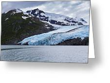 Portage Glacier Greeting Card