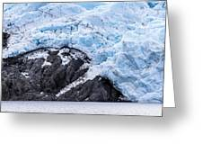 Portage Glacier Rretreat Greeting Card
