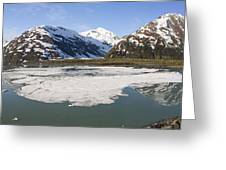 Portage Lake Panorama Greeting Card