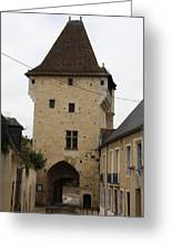 Porte Du Croux - Nevers Greeting Card