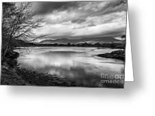 Porthmadog Lagoon Greeting Card