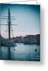 Porthole Perspective Greeting Card