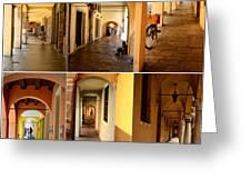 Porticos Of Padua No 2 Greeting Card