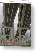 Portland Bridges 001 Greeting Card