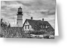 Portland Head Light 14431b Greeting Card