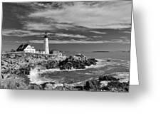Portland Head Light 19456b Greeting Card