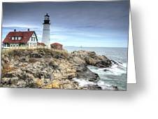 Portland Head Lighthouse Greeting Card