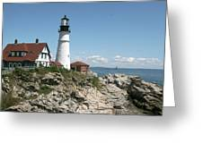 Portland Headlight Lighthouse 1 Greeting Card