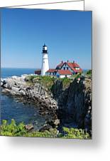 Portland Lighthouse 2 Greeting Card