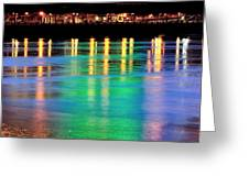 Portland Lights 22971 F Greeting Card
