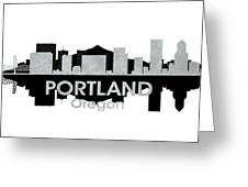 Portland Or 4 Greeting Card