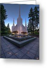 Portland Temple Greeting Card