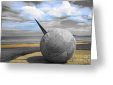 Portmanuck Sphere Ireland Greeting Card by Jo Collins