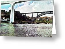 Porto-185 Greeting Card