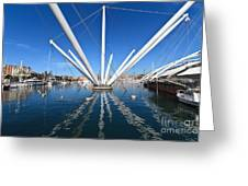 Porto Antico In Genova Greeting Card