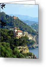 Portofino Coastline Greeting Card