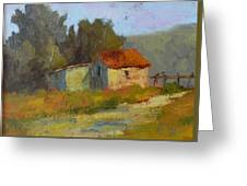 Portola Pastures Greeting Card