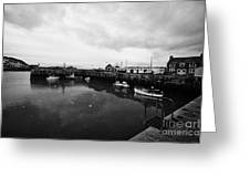 Portpatrick Harbour Scotland Uk Greeting Card by Joe Fox
