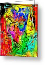 Portrait 703 - Marucii Greeting Card