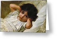 Portrait De Marie-louise  Greeting Card