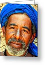 Portrait Of A Berber Man  Greeting Card by Ralph A  Ledergerber-Photography