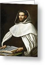 Portrait Of A Carmelite Greeting Card